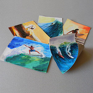 SMALL SURF PAINTINGS
