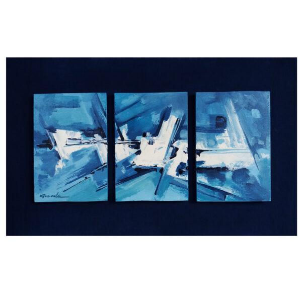 Trittico--blue