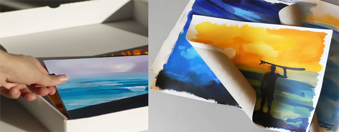 surf-art-ganadu-paintings-shipment-packaging
